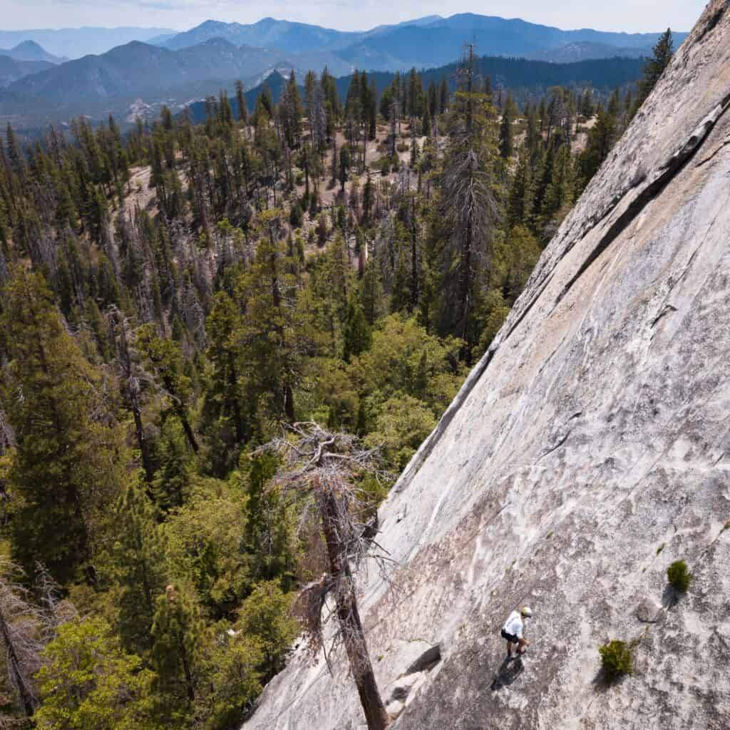 climbing at dome rock